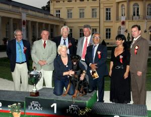 IDC-Weltsiegerschau am 27.08.2011 in Fehérvárcsurgó - Hungary
